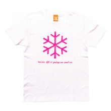 LIFE IS GOING ON AND ON Tシャツ ホワイト